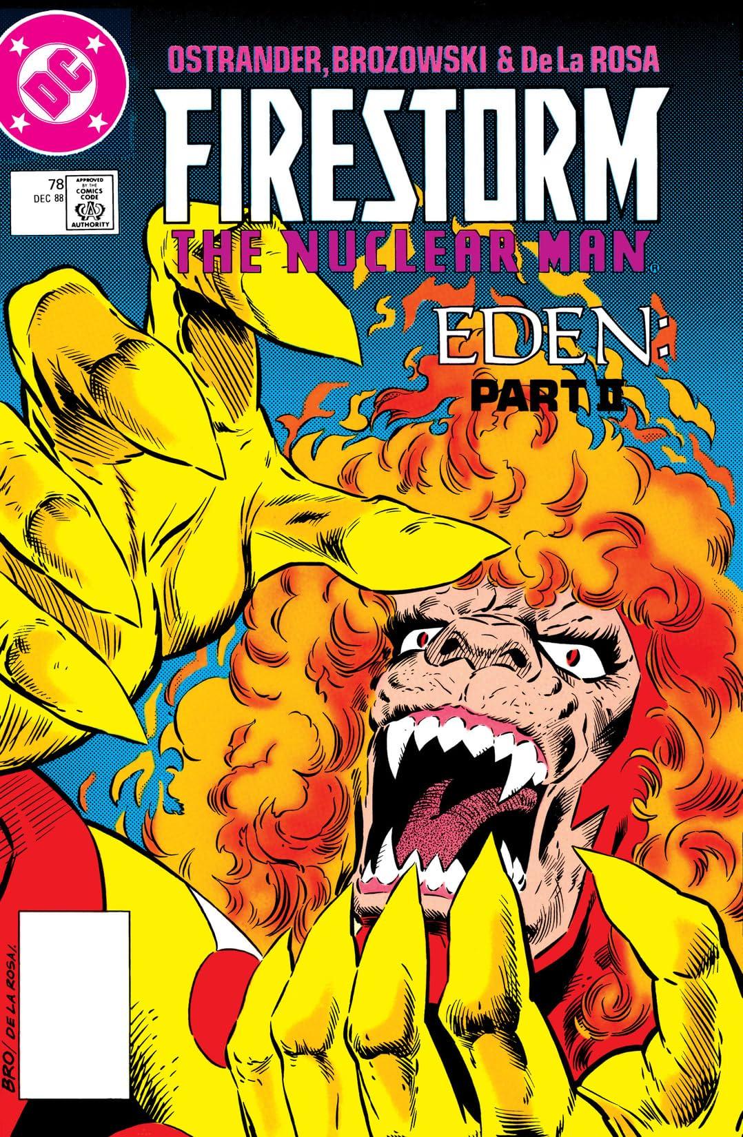 Firestorm: The Nuclear Man (1982-1990) #78