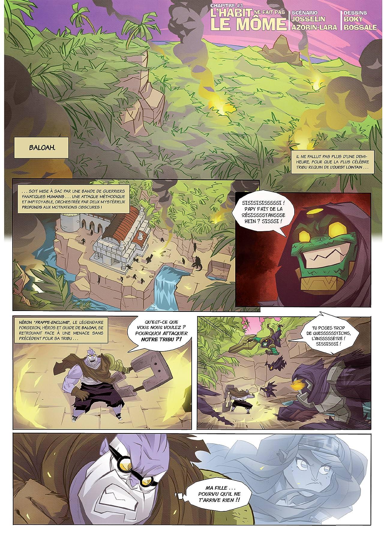 Samourawaii Vol. 2: Hali, le porteur