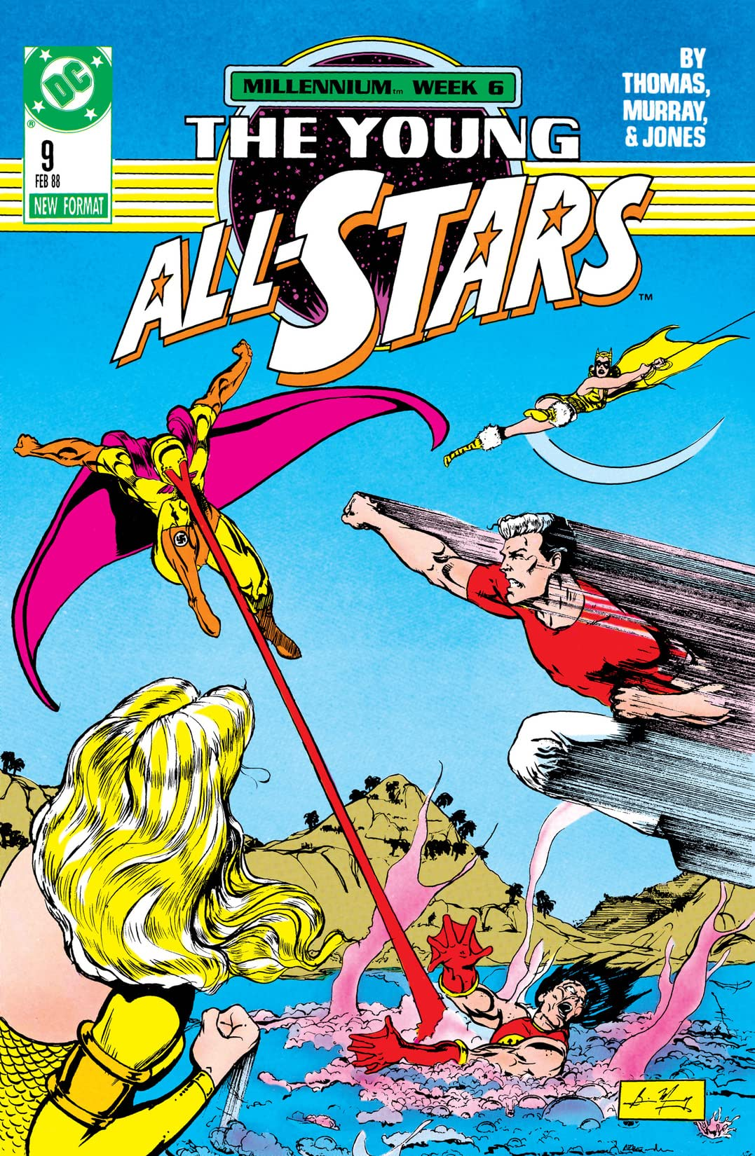 Young All-Stars (1987-1989) #9