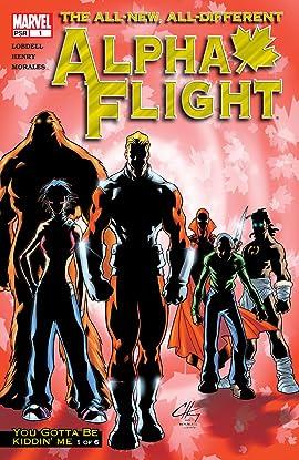 Alpha Flight (2004-2005) #1