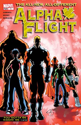 Alpha Flight (2004-2005) #1
