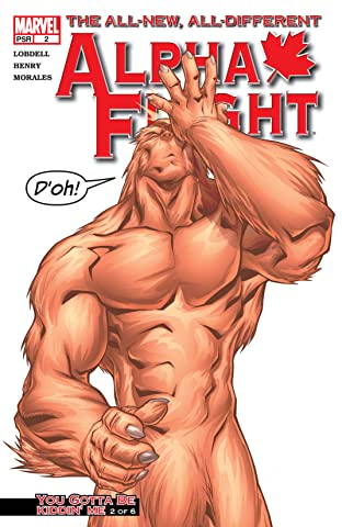 Alpha Flight (2004-2005) #2