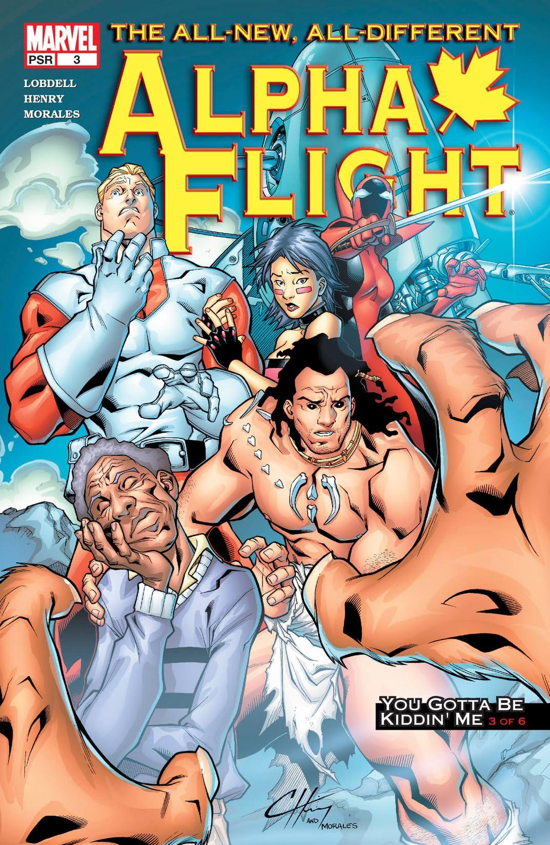 Alpha Flight (2004-2005) #3