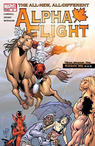 Alpha Flight (2004-2005) #5