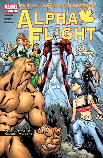 Alpha Flight (2004-2005) #6