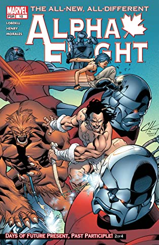 Alpha Flight (2004-2005) #10