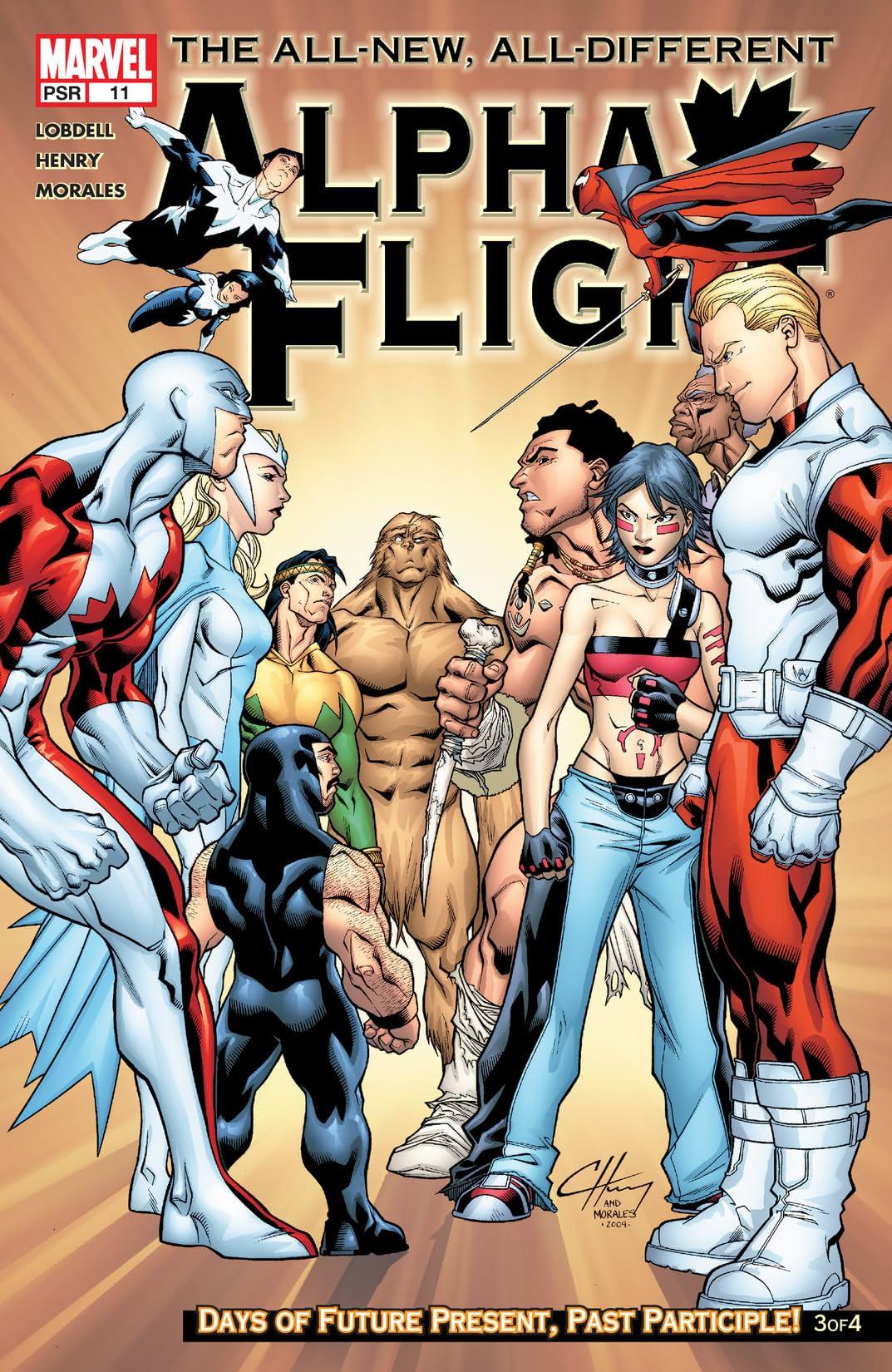 Alpha Flight (2004-2005) #11