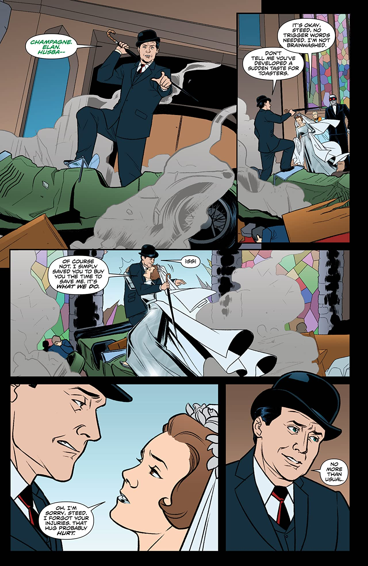 Steed and Mrs. Peel: Ongoing #11