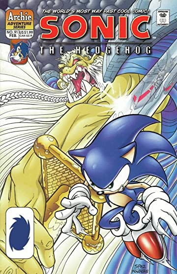 Sonic the Hedgehog #91