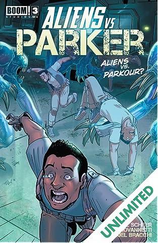 Aliens vs. Parker #3 (of 4)