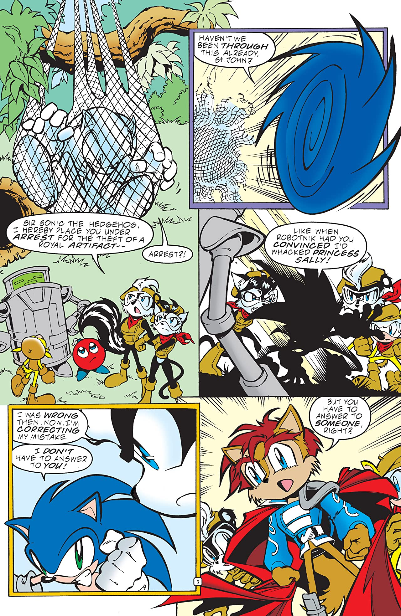 Sonic the Hedgehog #93