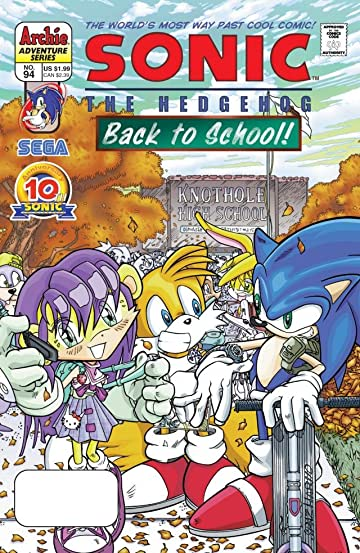 Sonic the Hedgehog #94