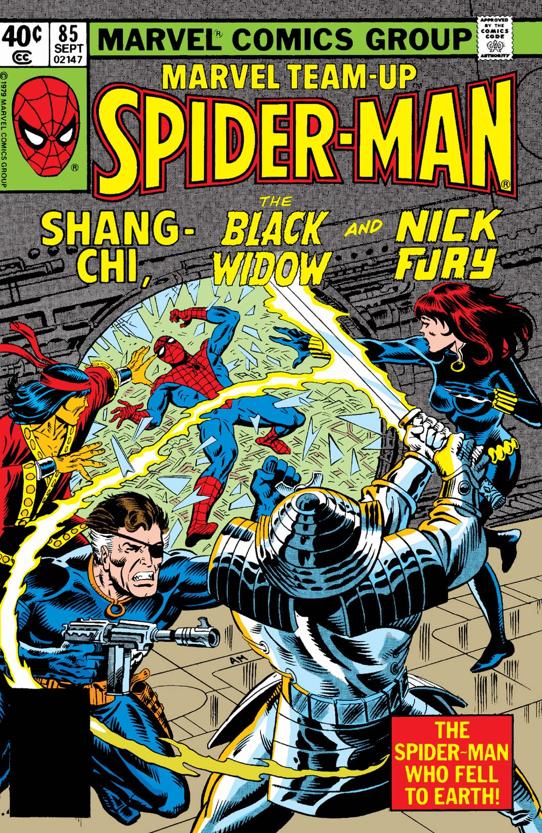 Marvel Team-Up (1972-1985) #85