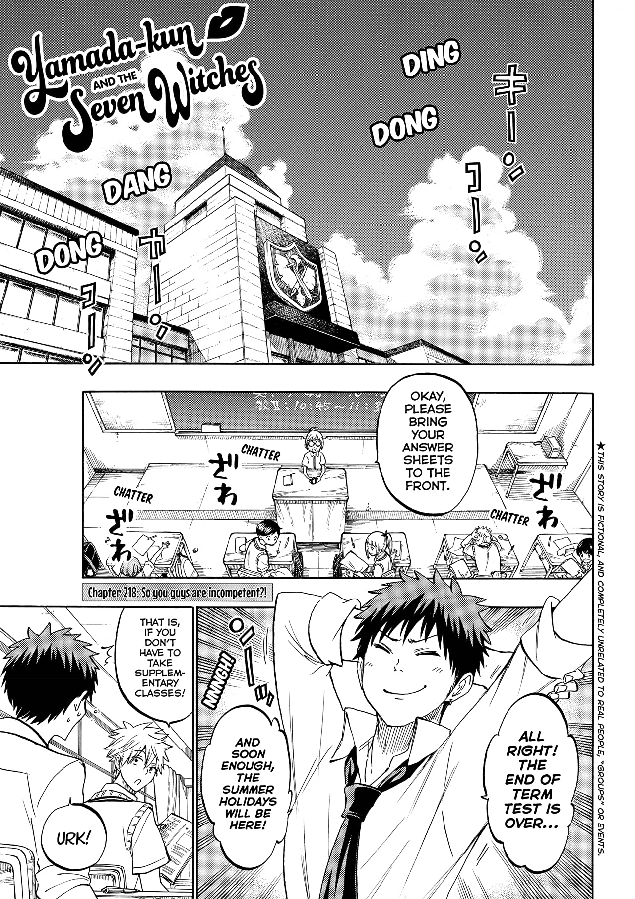 Yamada-kun and the Seven Witches #218