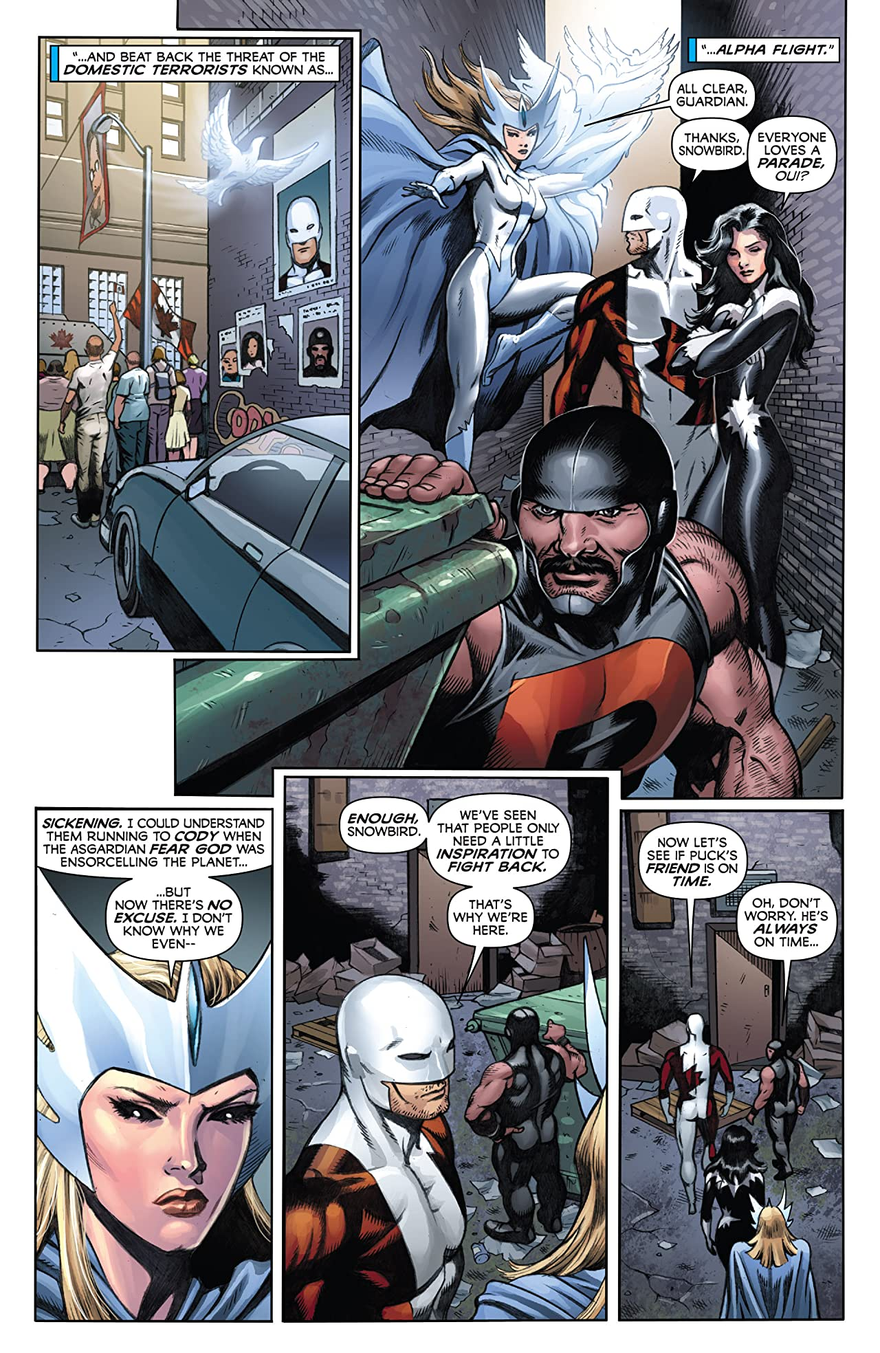 Alpha Flight (2011-2012) #5
