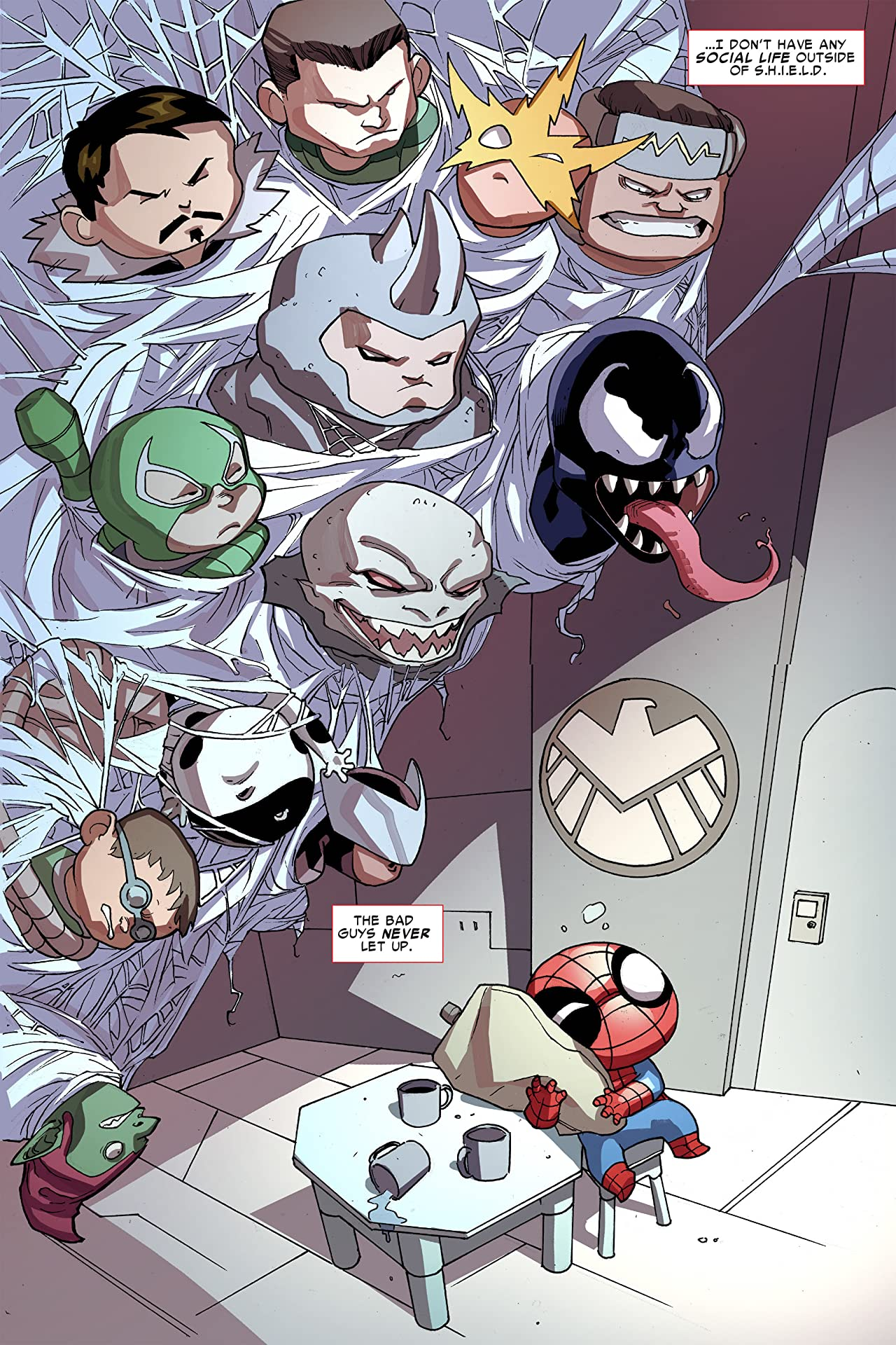 Ultimate Spider-Man Infinite Comic (2016) #8