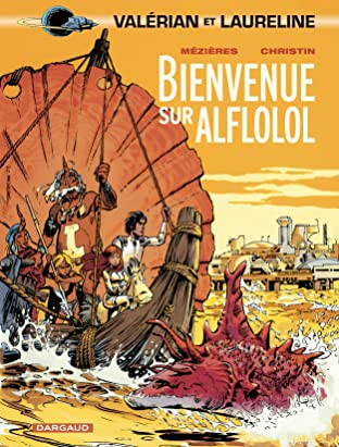 Valérian Tome 4: Bienvenue sur Alflolol