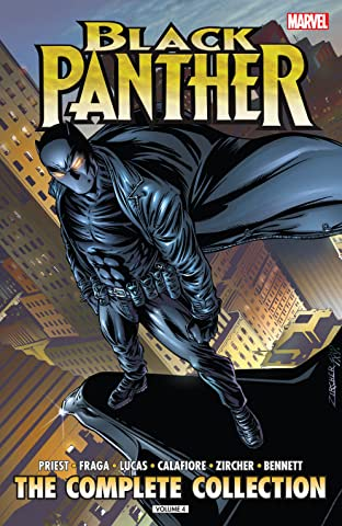 Black Panther by Christopher Priest: The Complete Collection Tome 4