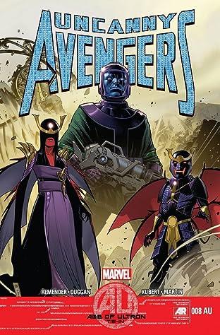 Uncanny Avengers (2012-2014) No.8AU