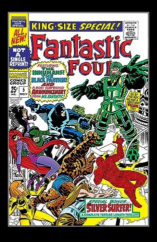 Fantastic Four (1961-1998) Annual #5