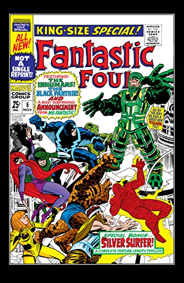 Fantastic Four (1961-1998) Annual #5
