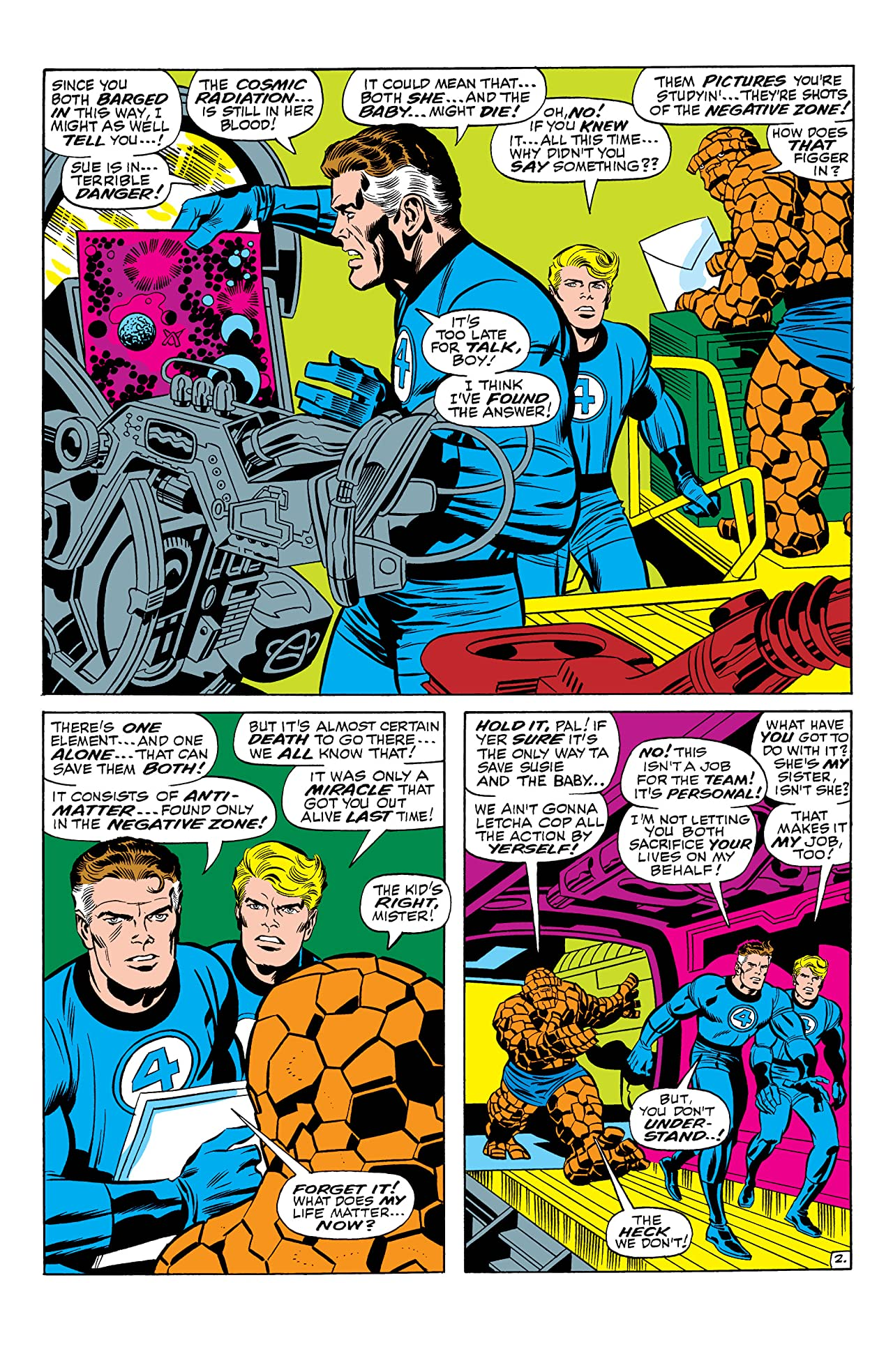 Fantastic Four (1961-1998) Annual #6