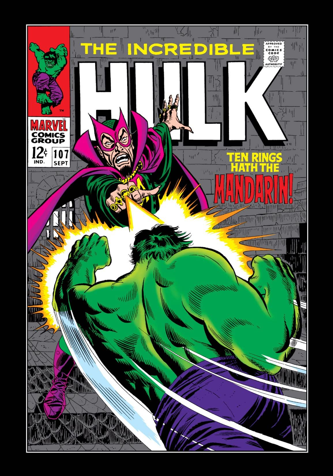 Incredible Hulk (1962-1999) #107