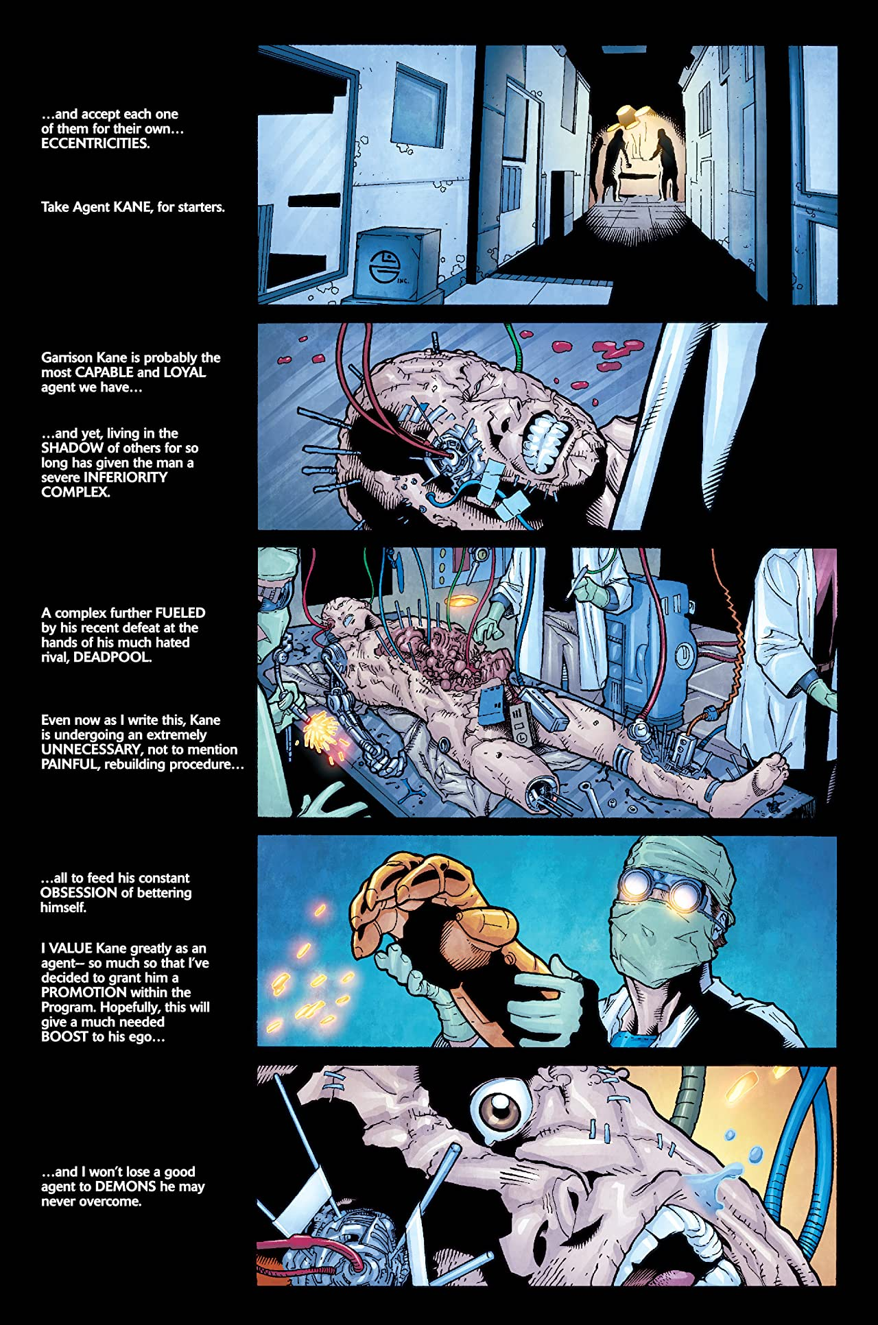 Weapon X (2002-2004) #0