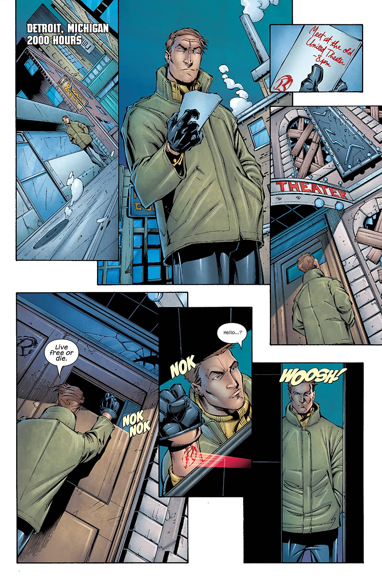 Weapon X (2002-2004) #6