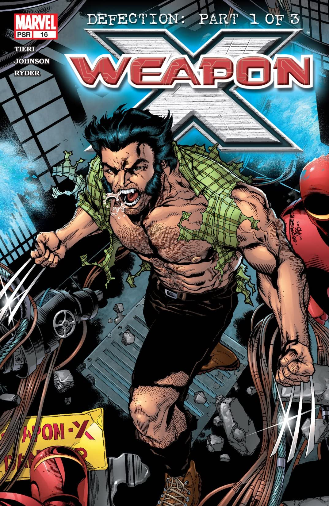 Weapon X (2002-2004) #16