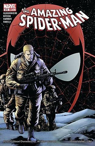Amazing Spider-Man (1999-2013) #574