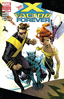 X-Factor Forever (2010) #5 (of 5)