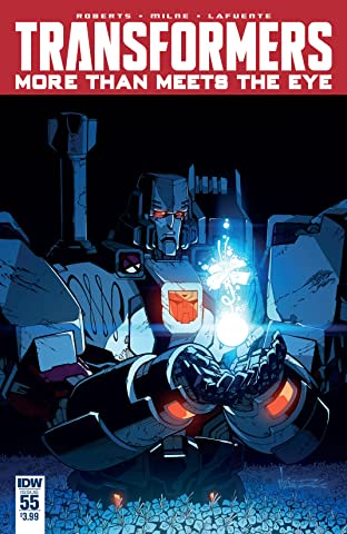 Transformers: More Than Meets the Eye (2011-) #55