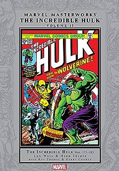 Incredible Hulk Masterworks Vol. 10