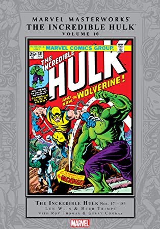 Incredible Hulk Masterworks Vol. 10