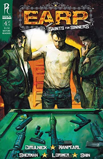 Earp: Saints For Sinners #4 (of 4)