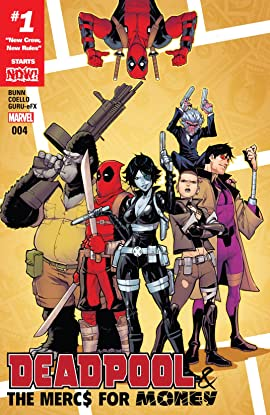 Deadpool & The Mercs For Money (2016-2017) #4