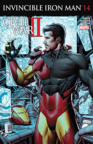 Invincible Iron Man (2015-2016) #14