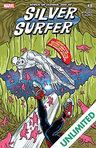 Silver Surfer (2016-2017) #8