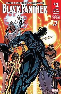 Black Panther (2016-2018) #7
