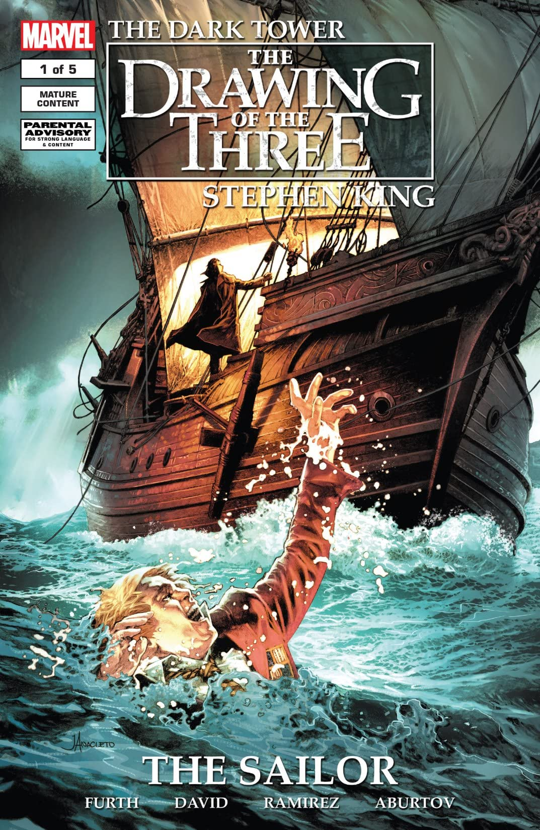 Dark Tower: The Drawing Of The Three - The Sailor #1 (of 5)