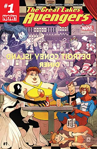 Great Lakes Avengers (2016-) #1