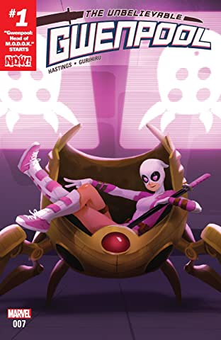 Gwenpool, The Unbelievable (2016-) #7