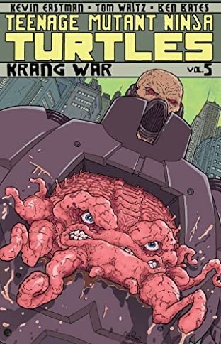Teenage Mutant Ninja Turtles Tome 5: Krang War