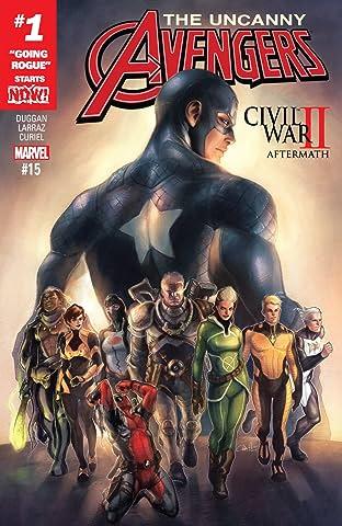 Uncanny Avengers (2015-2017) No.15