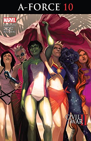 A-Force (2016-) #10
