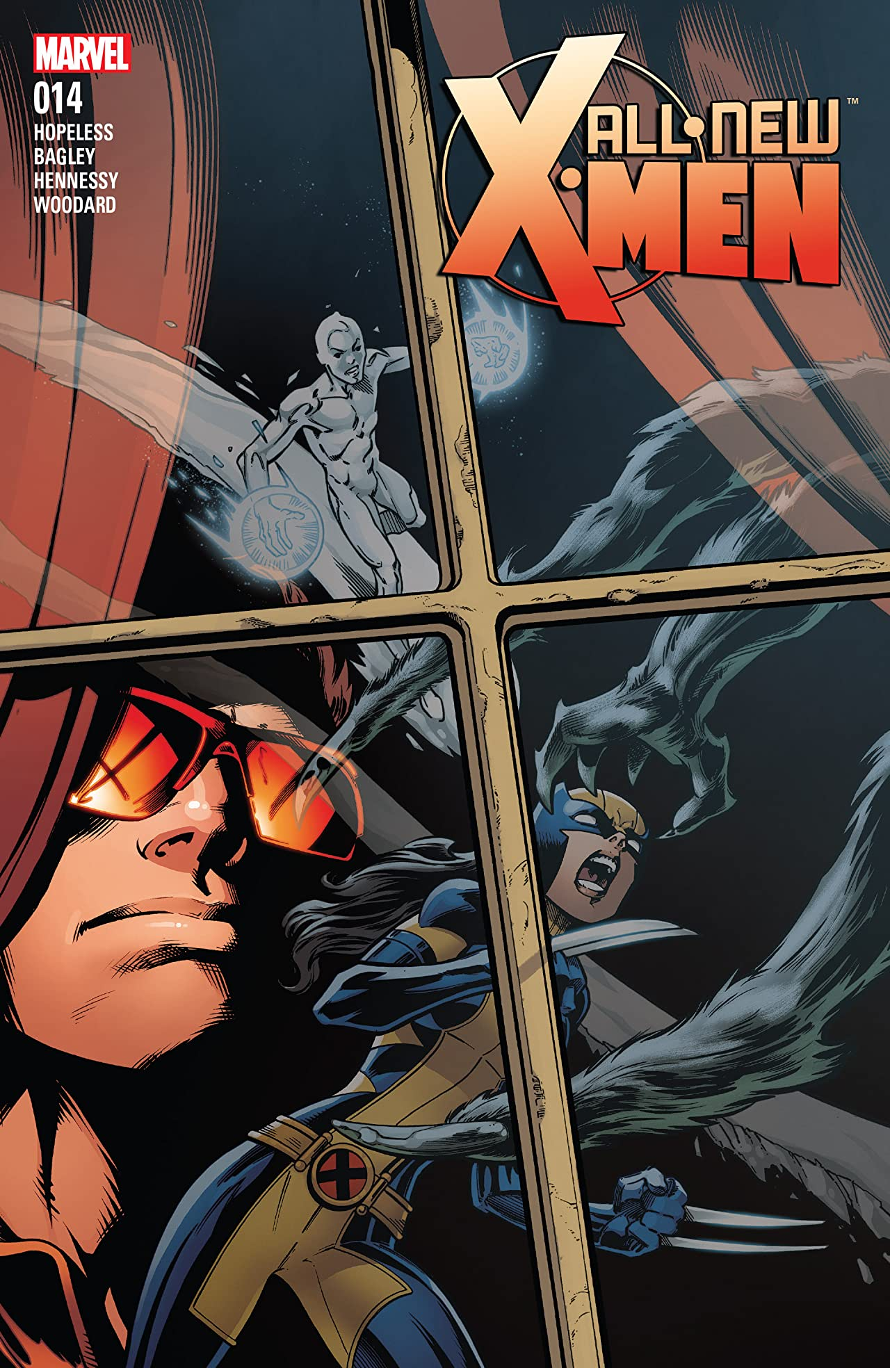 All-New X-Men (2015-2017) #14
