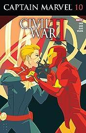 Captain Marvel (2016) #10