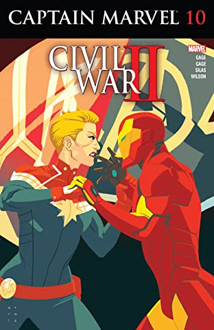 Captain Marvel (2016) No.10