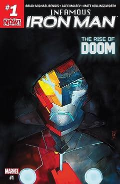 Infamous Iron Man (2016-2017) #1